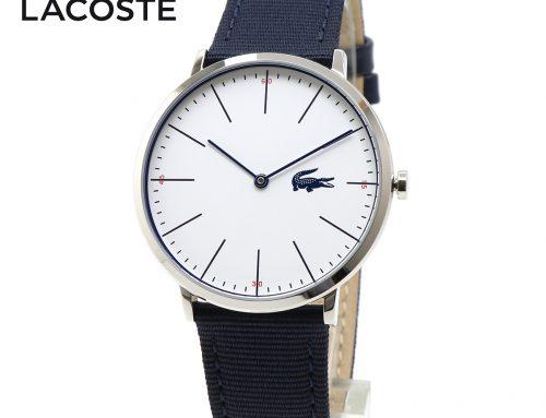 LACOSTE ラコステ MOON ムーン 2010914 腕時計 ネイビー 紺色 薄型 アナログ メンズ ウォッチ 男性用 腕時計 ユニセックス