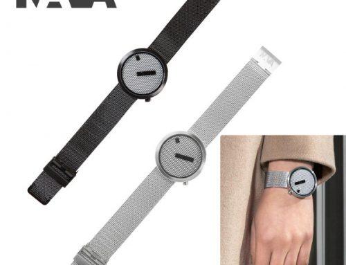 NAVA DESIGN(ナバデザイン)JACQUARD(ジャカード)O603 ブラック O605 シルバー メンズ レディース ウォッチ 男性用 女性用 腕時計 ナヴァデザイン