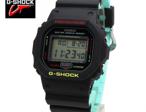 CASIO Gshock カシオ ジーショック ブリージー・ラスタカラー DW-5600CMB-1 メンズ レディース マルチカラー ブラック スカイブルー腕時計
